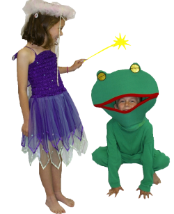 Frog and princess