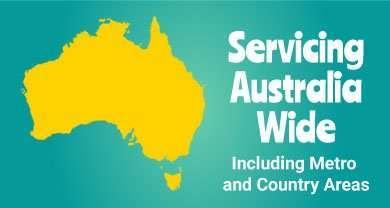 Servicing Australia Wide