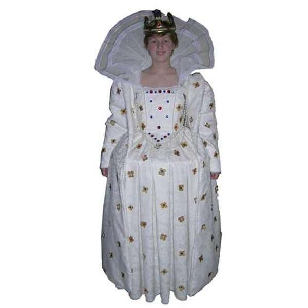 Queen Elizabeth Childrens Costume Hire