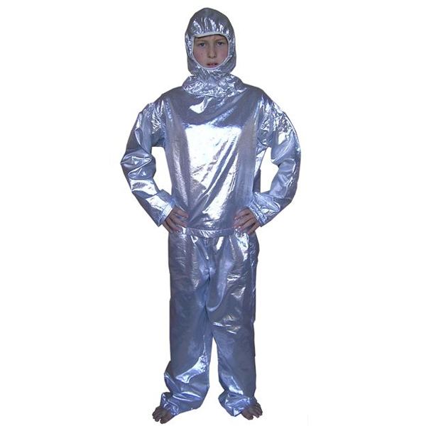 Silver Space Suits Costumes Without Drama